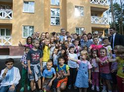 Впервые в Украине за 3 месяца построен энергоэффективный дом на 18 квартир
